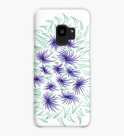 Flowers & Leaves Case/Skin for Samsung Galaxy