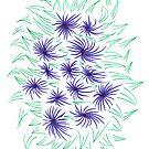 Flowers & Leaves by KazM