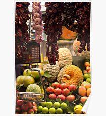 Barcelona Markets Poster