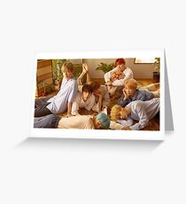 BTS group pic [Click to see items with this design] Greeting Card