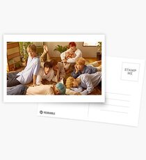 BTS group pic [Click to see items with this design] Postcards