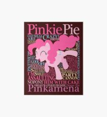 The Many Words of Pinkie Pie Art Board