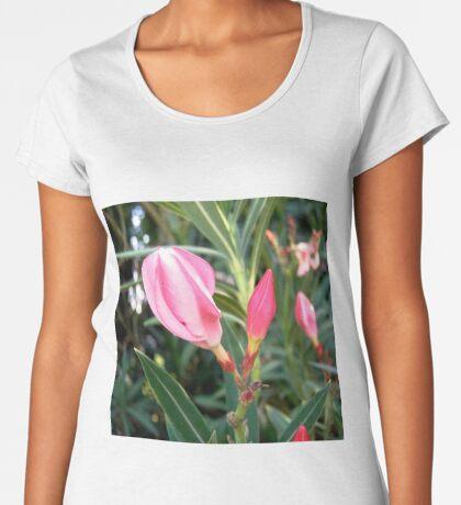 Oleander buds Women's Premium T-Shirt