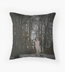 Deafening Cold Throw Pillow