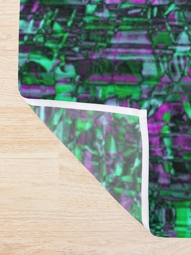 Alternate view of Urban Pattern #3 Shower Curtain