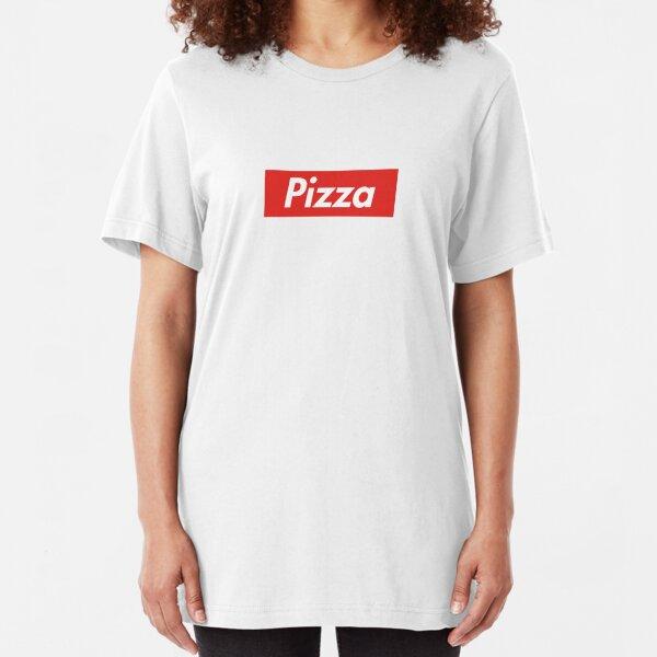 Pizza Supreme Slim Fit T-Shirt
