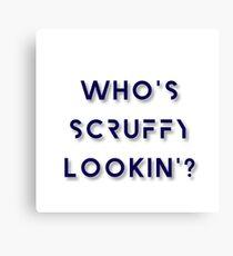Who's Scruffy Lookin'? - Star Wars Canvas Print