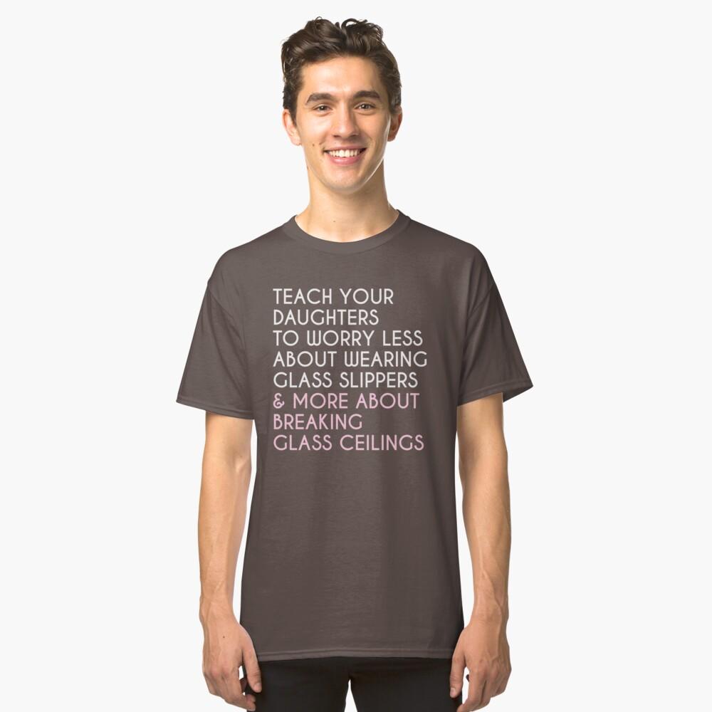 72d6ddb22 Breaking Glass Ceilings Slim Fit T-Shirt. Designed by kjanedesigns