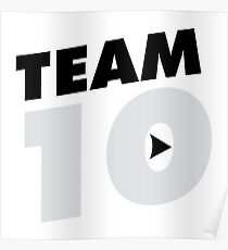 Team 10 | Official Jake Paul Merch Poster