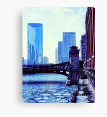 Icy Afternoon... Canvas Print