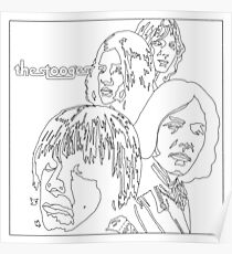 THE STOOGES Poster
