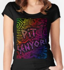 Sinulog Fest Women's Fitted Scoop T-Shirt
