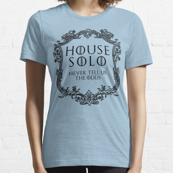 House Solo (black text) Essential T-Shirt