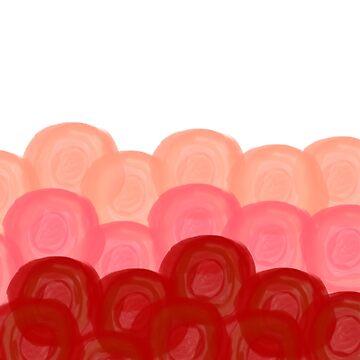 Ombré Roses by ahillustration