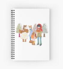 3-gatsu no Lion Snowy Days Spiral Notebook