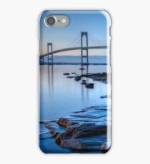 Newport Bridge Sunrise from Taylor Point iPhone Case/Skin