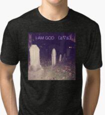 godly, godly, godly!  Tri-blend T-Shirt