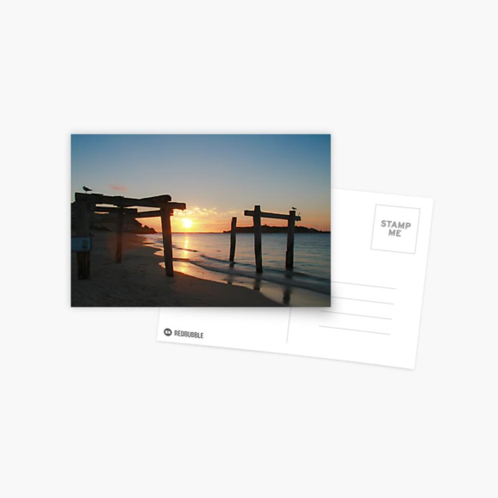 Hamelin Bay Sunset Postcard