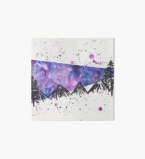 Galaxy Mountains Art Board