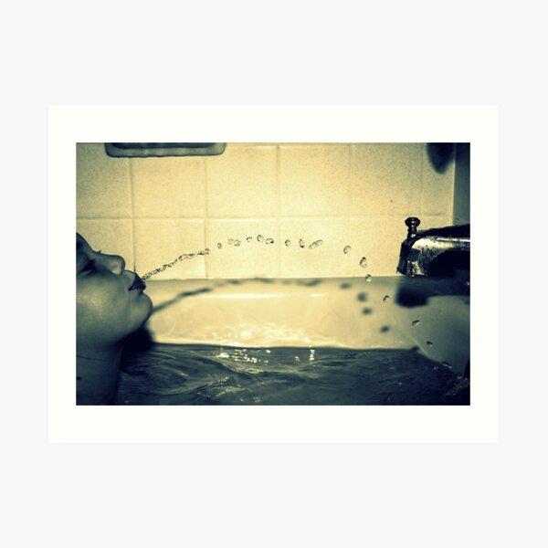 Bathtime Fun Art Print