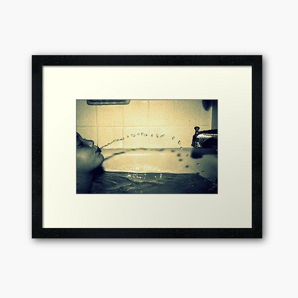 Bathtime Fun Framed Art Print