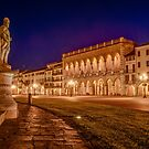 Prato della Valle, Padova, Italy by Erik Schlogl