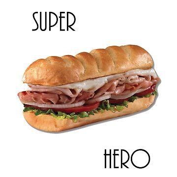 Super Hero by dalyart