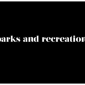 Parks and Recreation Blocked Design by serendipitous08