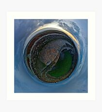 Winter Solstice Dawn over Grianan, Donegal, Ireland Art Print