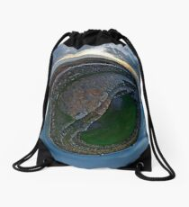Winter Solstice Dawn over Grianan, Donegal, Ireland Drawstring Bag