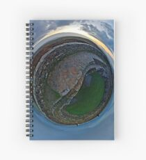 Winter Solstice Dawn over Grianan, Donegal, Ireland Spiral Notebook