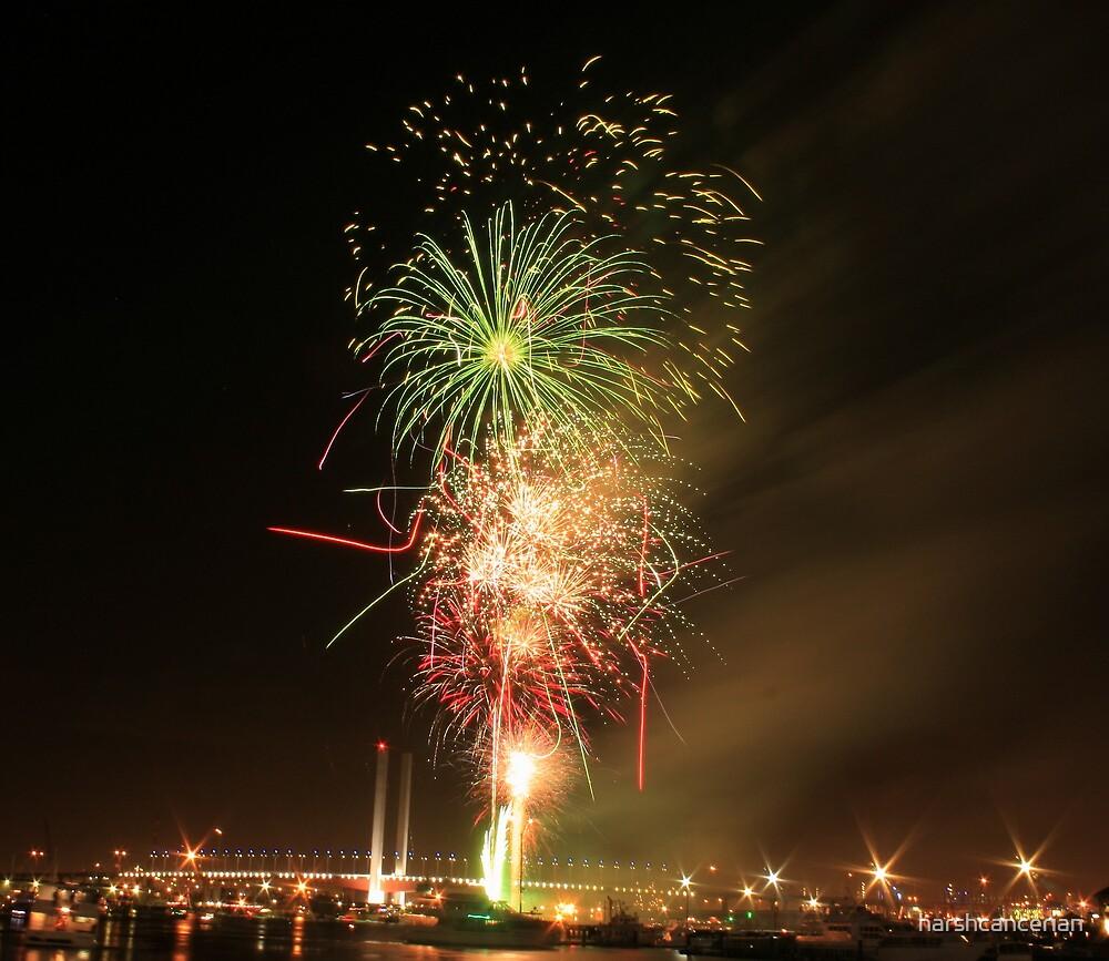 Happy New Year by harshcancerian