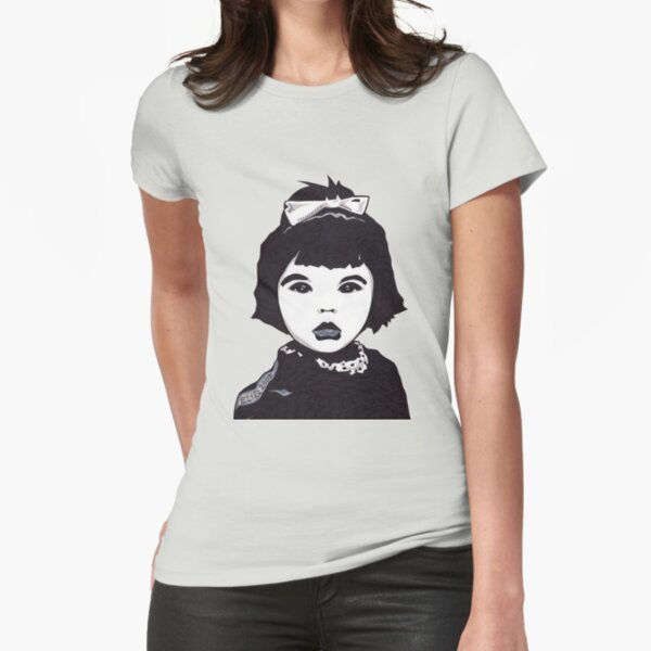 Baby Bjork t-shirt Fitted T-Shirt