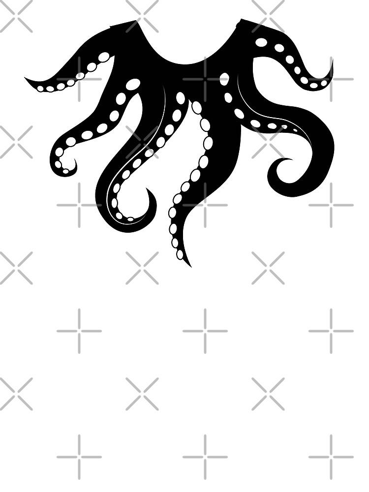 Octoshirt schwarz von kdm1298