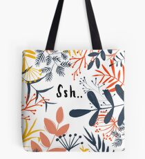 Quiet in the Jungle Tote Bag