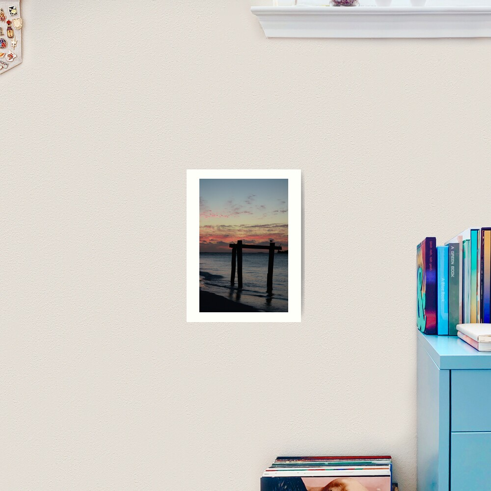 Hamelin Bay Sunset Art Print