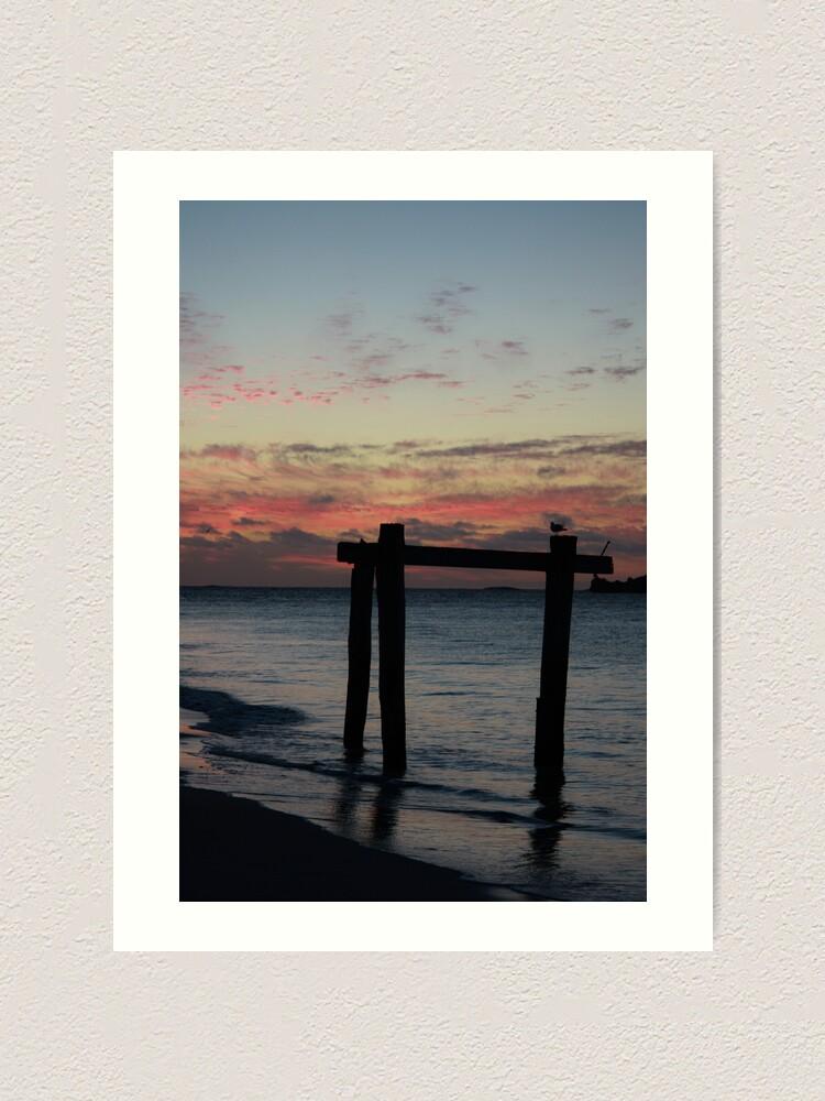 Alternate view of Hamelin Bay Sunset Art Print