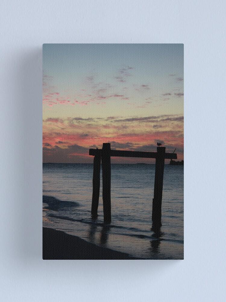 Alternate view of Hamelin Bay Sunset Canvas Print