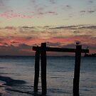 Hamelin Bay Sunset by Andreas Koepke