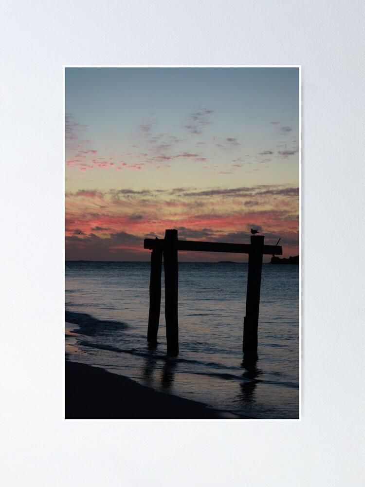 Alternate view of Hamelin Bay Sunset Poster