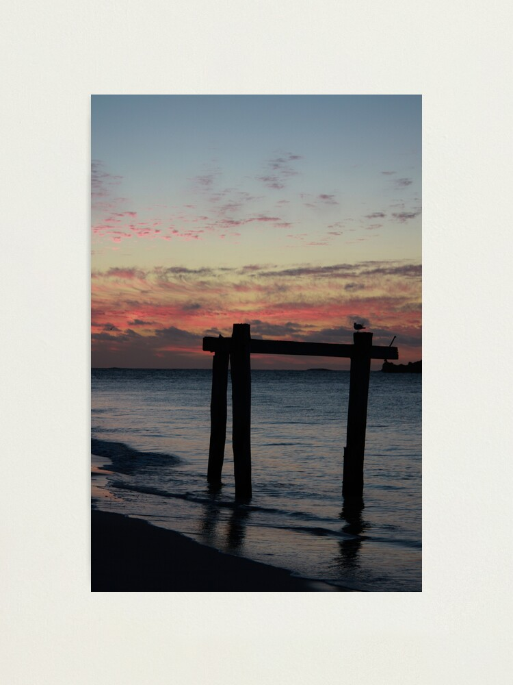 Alternate view of Hamelin Bay Sunset Photographic Print