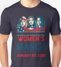 Women's march 2018 january 20 New York City Unisex T-Shirt