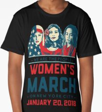 Women's march 2018 january 20 New York City Long T-Shirt