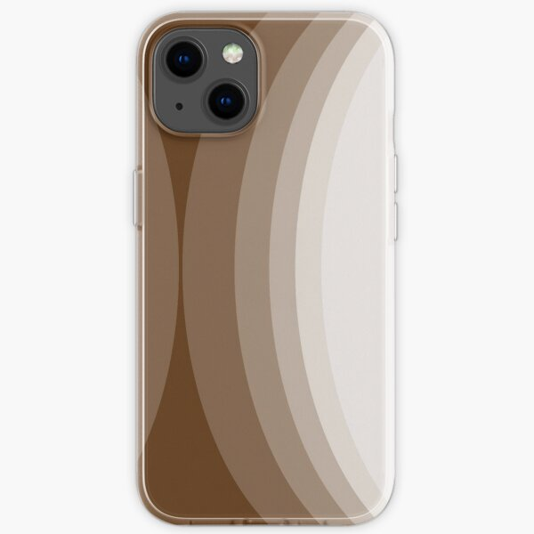 Moons - Chocolate iPhone Soft Case