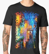 Mysterious Man at beautiful Rainbow Place Men's Premium T-Shirt