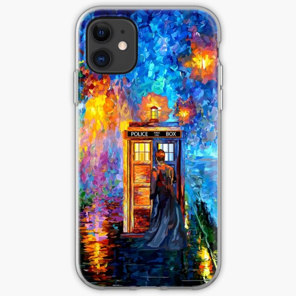 Mysterious Man at beautiful Rainbow Place iPhone Soft Case