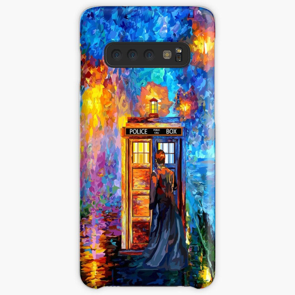 Mysterious Man at beautiful Rainbow Place Case & Skin for Samsung Galaxy