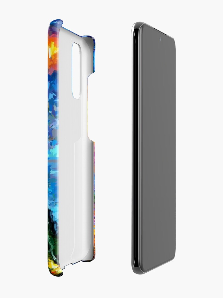 Alternate view of Mysterious Man at beautiful Rainbow Place Case & Skin for Samsung Galaxy
