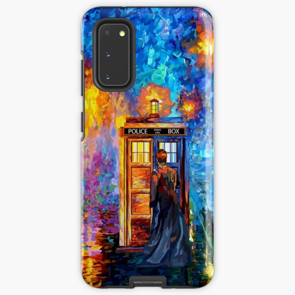 Mysterious Man at beautiful Rainbow Place Samsung Galaxy Tough Case