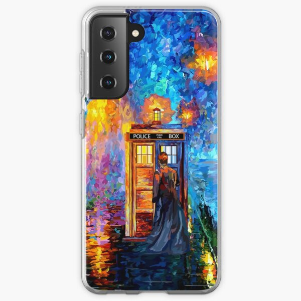 Mysterious Man at beautiful Rainbow Place Samsung Galaxy Soft Case
